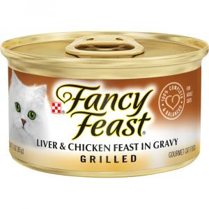 Fancy Feast Grilled Liver & Chicken