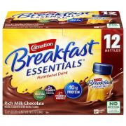 Carnation Breakfast Essentials Rich Milk Chocolate