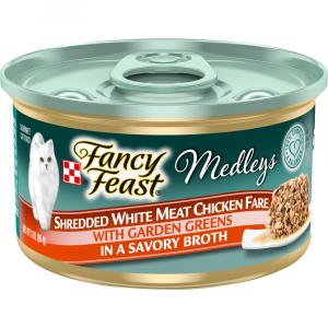 Fancy Feast Elegant Medley Shredded White Meat Chicken Can