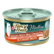 Fancy Feast Elegant Medley Shredded White Meat Chicken Can