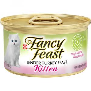 Fancy Feast Kitten Turkey Variety