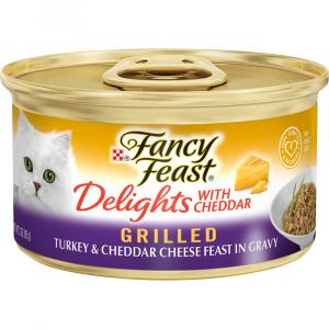 Fancy Feast Delights Grilled Turkey & Cheddar Cheese