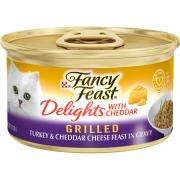 Fancy Feast Delights Grilled Turkey & Cheddar Cheese