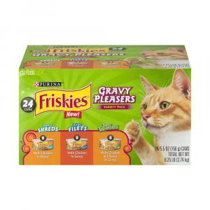 Friskies Gravy Pleasers Variety Pack