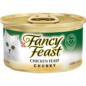 Fancy Feast Chunky Chicken Canned Cat Food