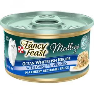 Fancy Feast Medleys Ocean Whitefish with Garden Veggies