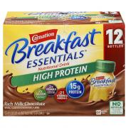 Carnation Breakfast Essentials High Protein Milk Chocolate