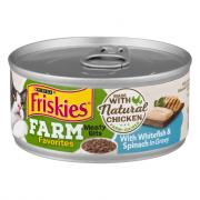 Friskies Farm Favorites Meaty Bits with Whitefish & Spinach