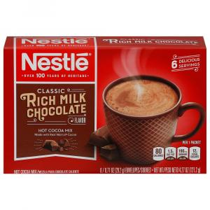 Nestle Milk Chocolate Hot Cocoa Mix