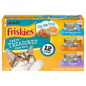 Friskies Tasty Treasures Variety