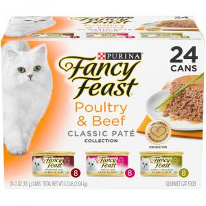 Fancy Feast Classic Beef & Poultry Variety Pack