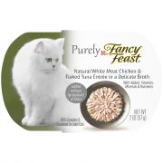 Fancy Feast Purely Chicken and Flake Tuna