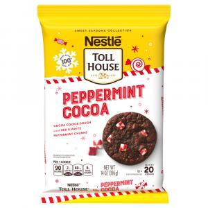 Nestle Toll House Peppermint Cocoa Cookie Dough