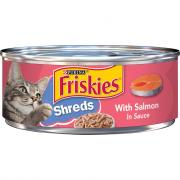 Friskies Buffet Shredded Salmon Canned Cat Food