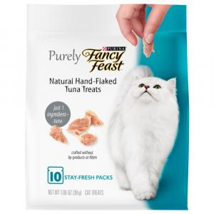 Purely Fancy Feast Treats With Real Tuna