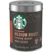 Starbucks Premium Instant Medium Roast Coffee