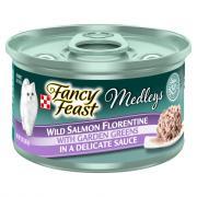 Fancy Feast Medley's Salmon Florentine In Sauce