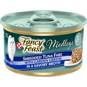 Fancy Feast Elegant Medley Shredded Yellowfin Tuna Can