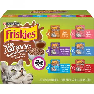 Friskies Pouch Variety Pack Cat Food