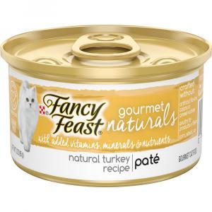Fancy Feast Gourmet Naturals Turkey Recipe Pate
