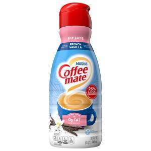Nestle Coffee-Mate Fat Free French Vanilla Non-Dairy Creamer