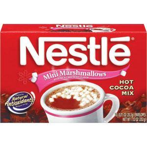 Nestle Hot Cocoa Mix W/marshmallows