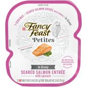 Fancy Feast Petites In Gravy Seared Salmon Entree