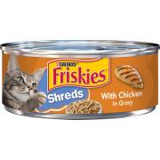 Friskies Buffet Shredded Chicken Canned Cat Food