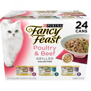 Fancy Feast Grilled Variety Pack Canned Cat Food