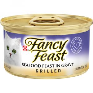Fancy Feast Grilled Seafood Feast Canned Cat Food