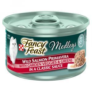 Fancy Feast Wild Salmon Primavera in Sauce