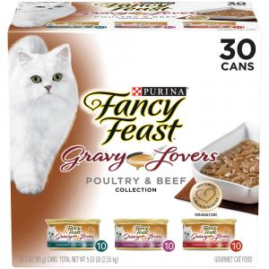 Fancy Feast Gravy Lover's Variety Pack