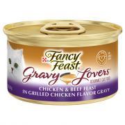 Fancy Feast Gravy Lovers Chicken & Beef Feast