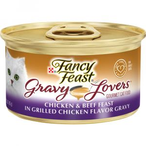 Fancy Feast Gravy Lovers Chicken & Beef Feast