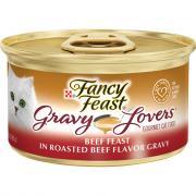 Fancy Feast Gravy Lovers Roasted Beef Flavor