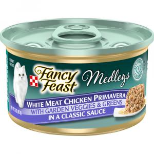 Fancy Feast Elegant Medley Chicken Primavera Cat Food