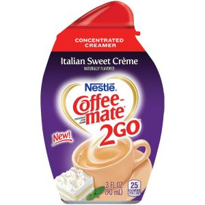 Coffee-mate 2go Italian Sweet Creme Concentrated Creamer