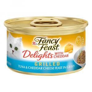 Fancy Feast Delights Grilled Tuna & Cheddar Cheese