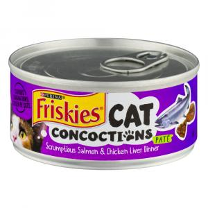 Friskies Cat Concoctions Salmon And Chicken Liver Dinner