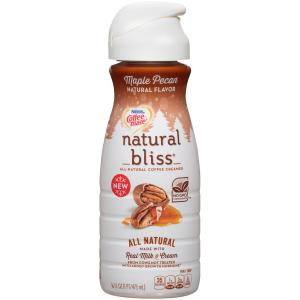 Coffeemate Natural Bliss Maple Pecan Coffee Creamer