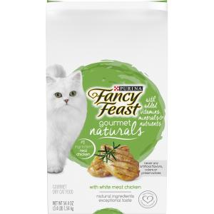Fancy Feast Gourmet Naturals White Meat Chicken Dry Cat Food