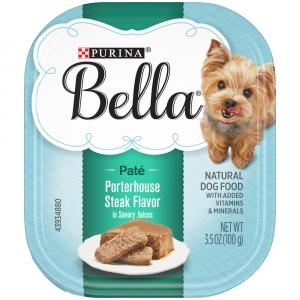 Purina Bella Porterhouse Steak Savory Flavor Dog Food