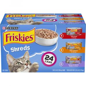 Friskies Shreds Variety Pack