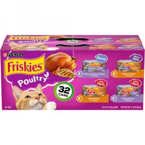 Friskies Poultry Variety Pack Canned Cat Food