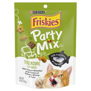 Friskies Party Mix Treasure Island Crunch