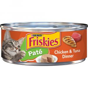 Friskies Buffet Chicken & Tuna Canned Cat Food