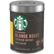 Starbucks Premium Instant Blonde Roast Coffee