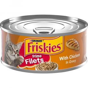 Friskies Prime Fillets Chicken & Gravy Canned Cat Food