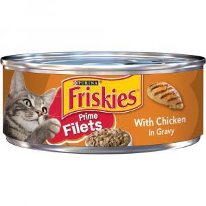 Friskies Prime Fillets Chicken & Gravy Canned Cat Food