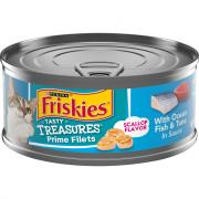 Friskies Tasty Treasures with Oceanfish & Tuna in Gravy with